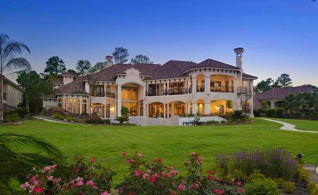 Lakefront Mansion In Houston Tx Designed By Gary Keith