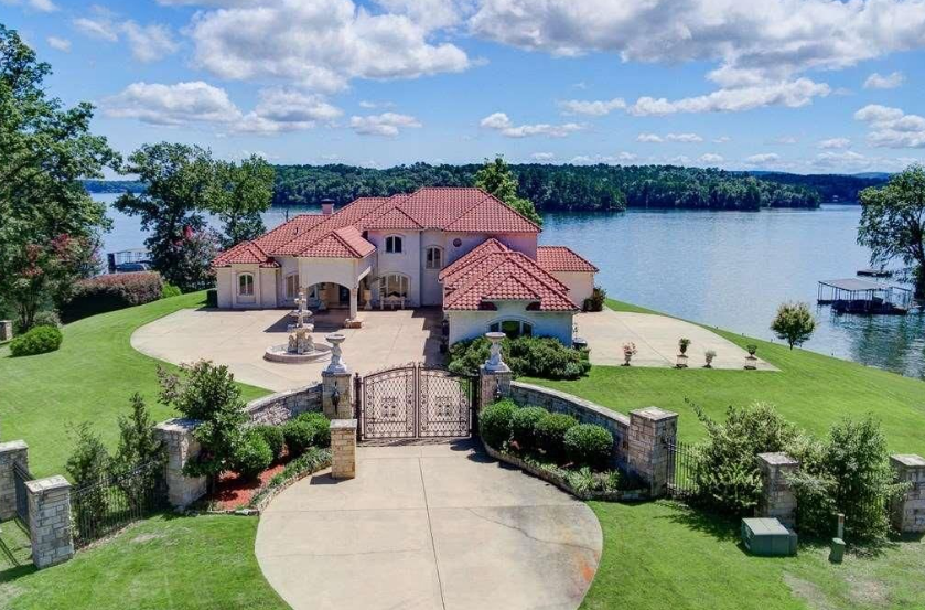 34 Million Lakefront Home In Hot Springs AR  Homes of