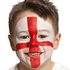 Chair Cover Hire London Phone Stand England Face Paint | Bubbles Crew Parties