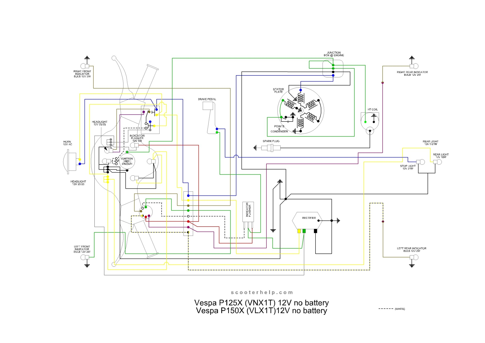 hight resolution of farmall h with 6 volt positive ground wiring schematic