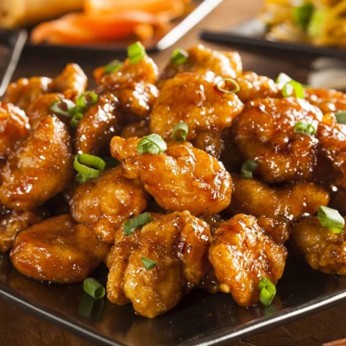 Chicken with honey