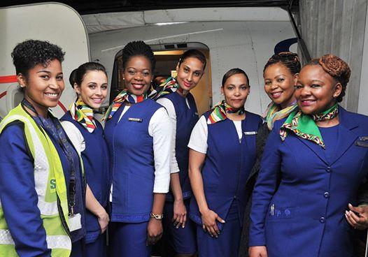 SAA all-female crew