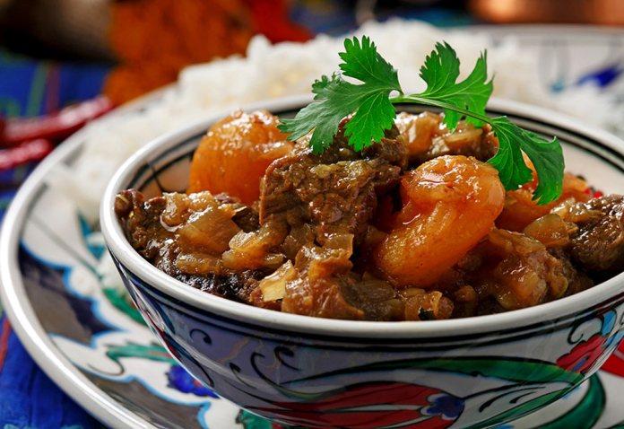 Spiced mutton stew