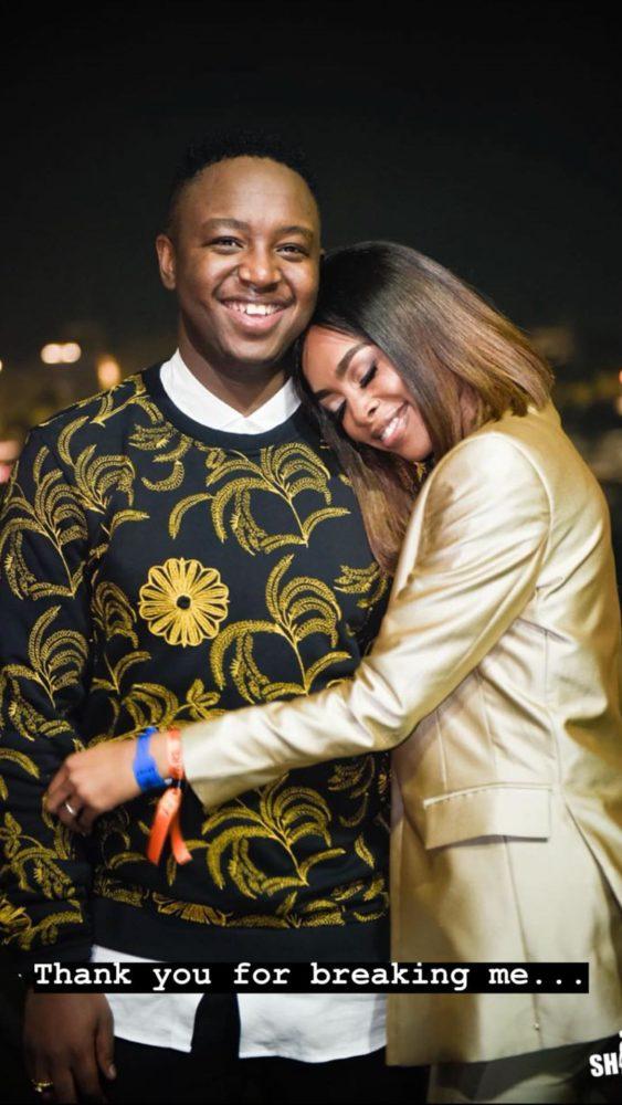 K Naomi and DJ Shimza
