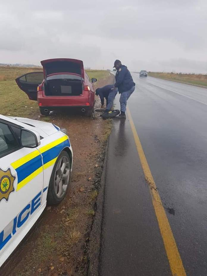 SAPS Officers