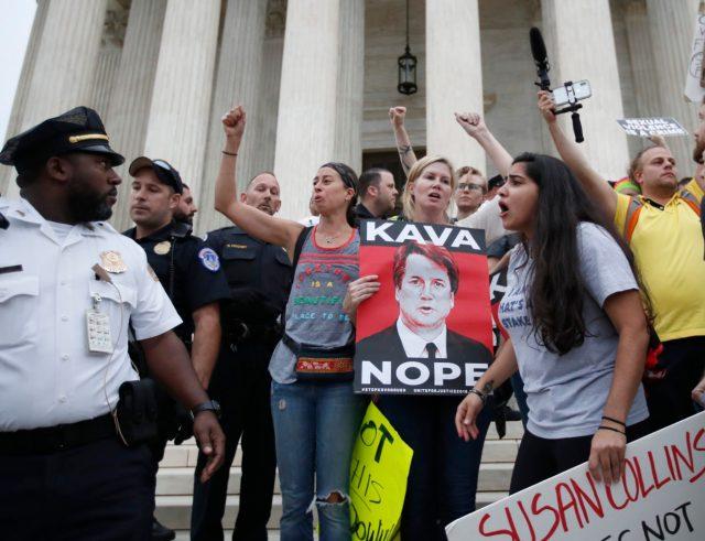 Kavanaugh activists