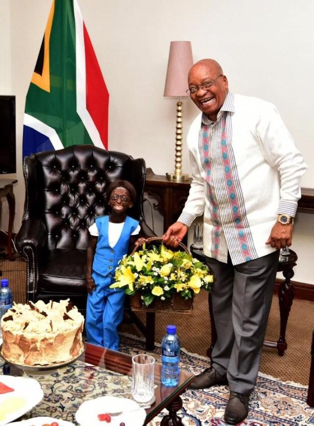 president and ONTLAMETSE 2