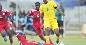 Football - 2017 Cosafa Castle Cup - South Africa v Namibia - Moruleng Stadium - Rustenburg