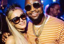 Cassper Nyovest and Paris Hilton