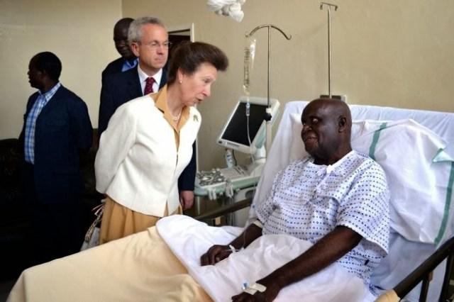 Kenneth Kaunda in Hospital