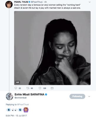 Pearl Thusi tweet 5