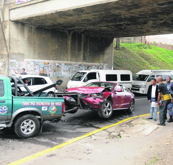 Accident in Durban