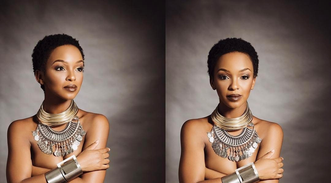 Nandi Madida Tv Host And Actress Poses Nude In Her Latest Instagram Pictures More -7470