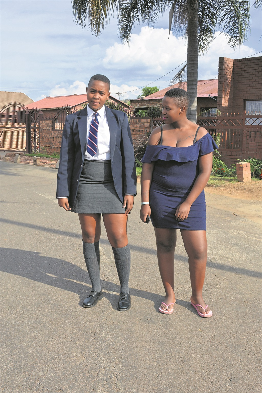 Student Thrown Out Of Class For Being To Sexxy - Mzansi -7724