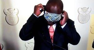 Cyril Ramaphosa's Mask Error