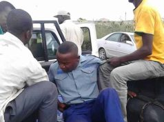 Cop-arrested