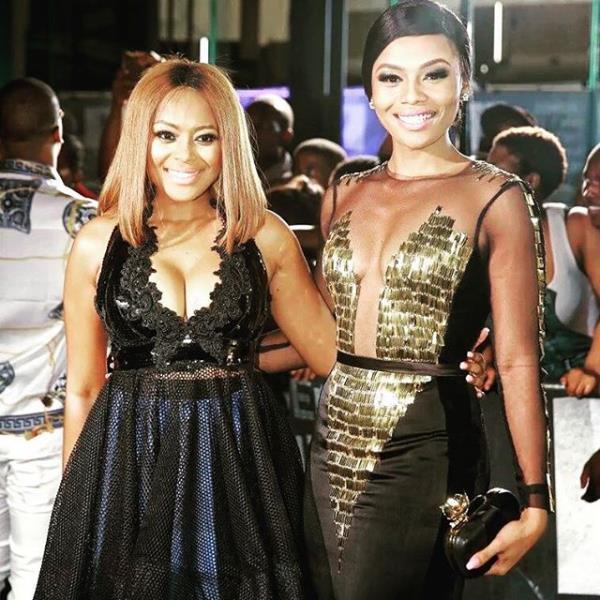 Lerato Kganyago and bonang Matheba