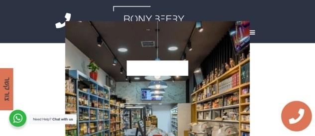 רוני בארי - עיצוב מסחרי של רשתות מזון וחללי מסחר
