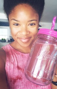 natural-afro-cherry-watermelon-smoothie