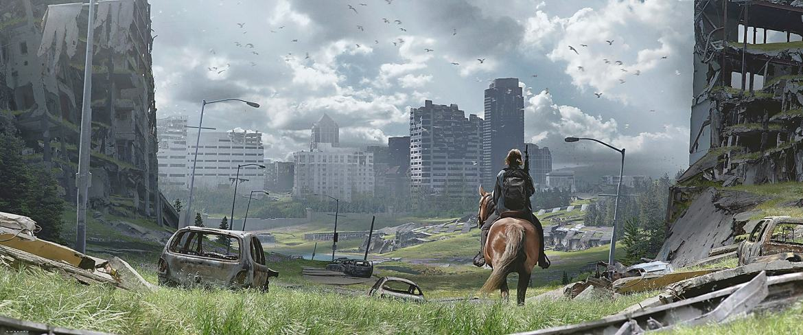 Seattle The Last of Us 2 Concept Art