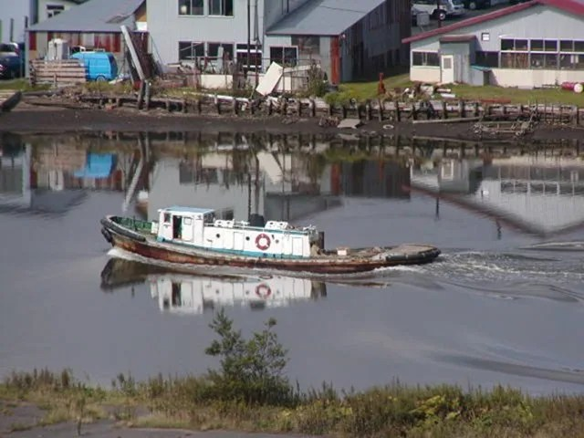 材木運搬船 (1)
