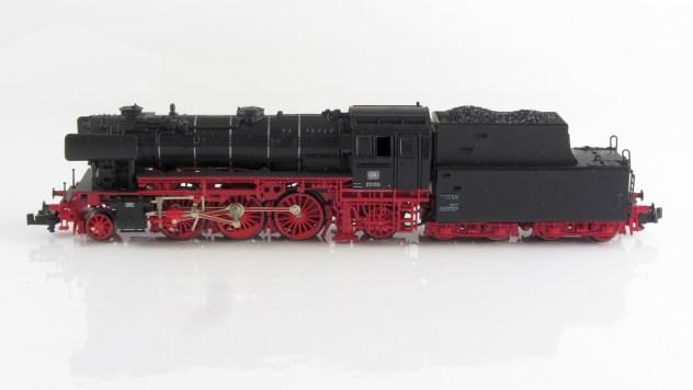 BR 23 Ein optischer Leckerbissen, die Kurzkupplung zwischen Tender und Lok