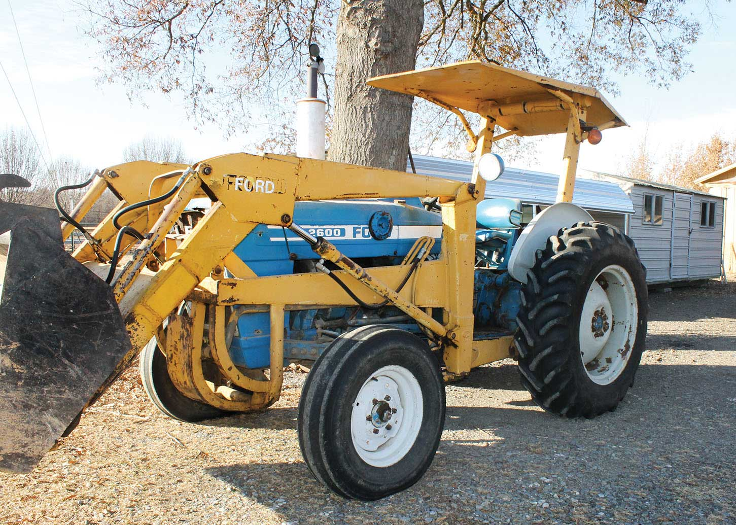 hight resolution of gobert s ford 2600 loader