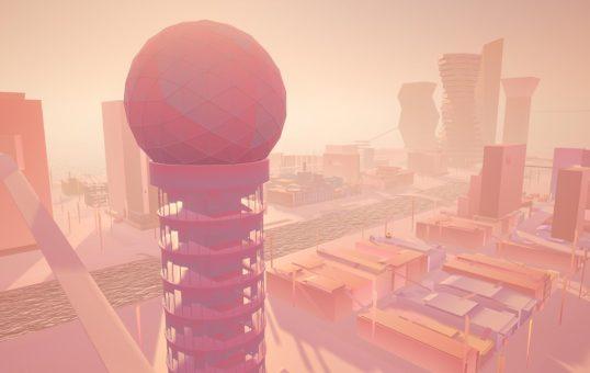 Vue de l'exposition Views From Miami Fauve au Virtual Dream Center