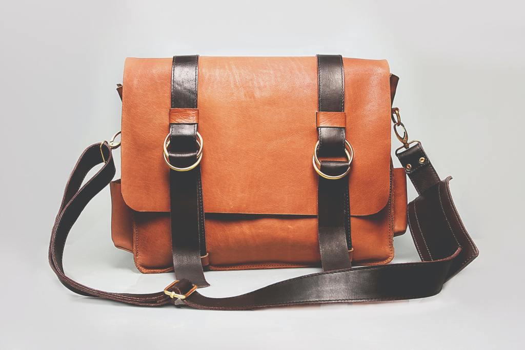حقيبة مصنوعة من الجلد