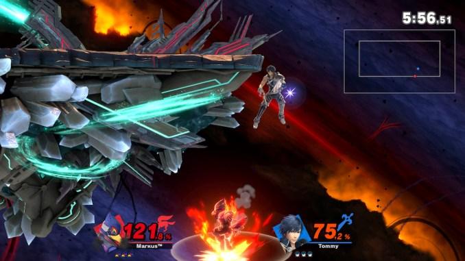 Das Foto zeigt, wie sich Chrom zum Edge Guard positioniert.