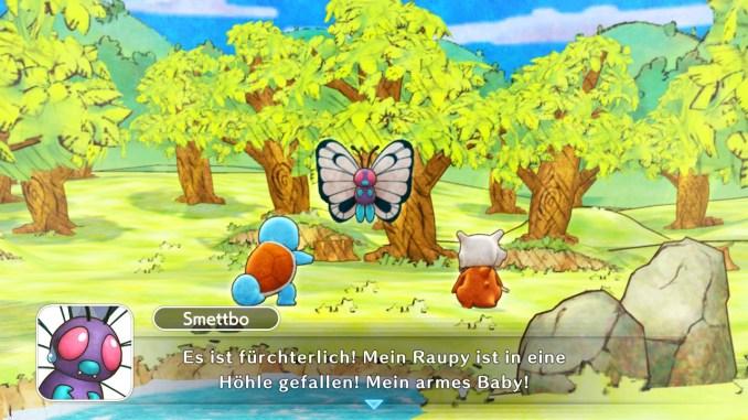 Das Foto zeigt einen Dialog zwischen Smettbos, Schiggy und Tragosso.