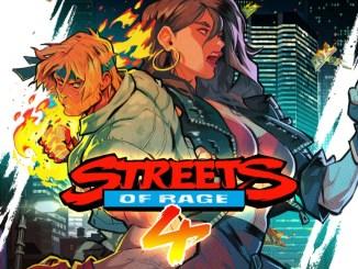 Das Bild zeigt das offizielle Vover zu Streets of Rage 4
