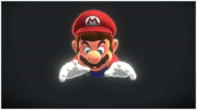 Das Foto zeigt Mario im Hechtsprung in Super Mario Odyssey für die Nintendo Switch.