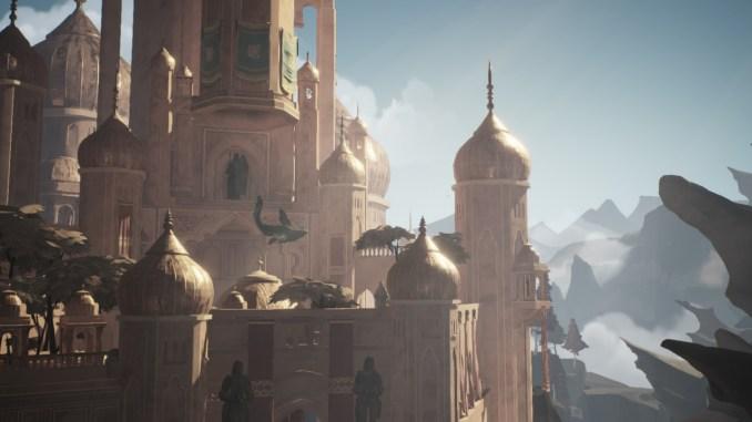 Das Foto zeigt den Palast aus Ashen.