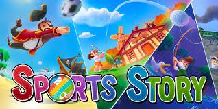 Titel-Screen von Sport Story
