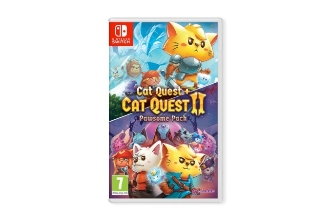 Cat Quest Pawesome Pack Cover