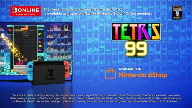 Tetris 99 Werbebild