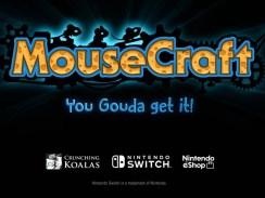 Auf dem Bild zu sehen ist das offizielle Cover von Mousecraft