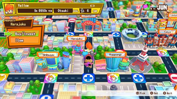 """Das Bild zeigt das """"Spielbrett"""" von Billion Road."""