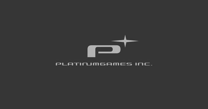 Das Bild zeigt den Schriftzug von PlatinumGames.