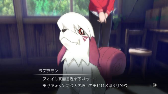 Dieses Bild zeigt das Digimon Labromon.