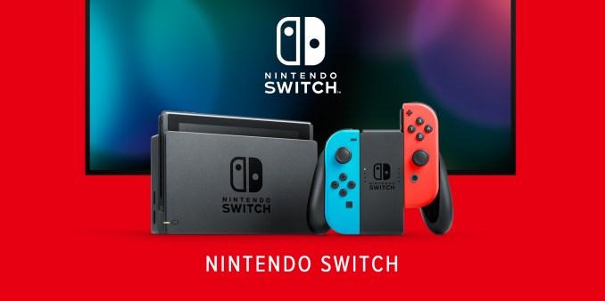 Das Bild ein Werbeild zur Nintendo Switch.