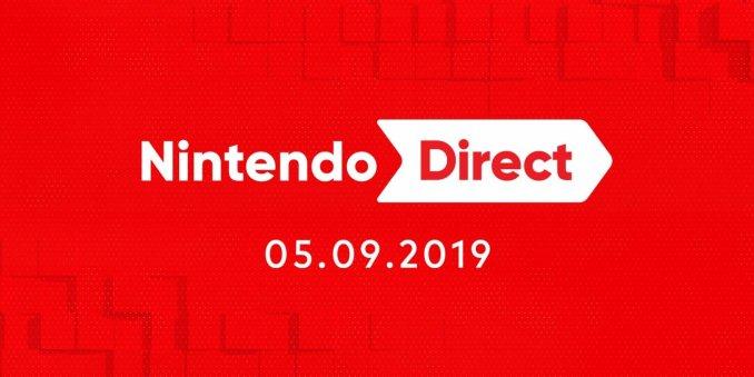 Das Bild zeigt das Datum der letzten allgemeinen Nintendo Direct-Präsentation.
