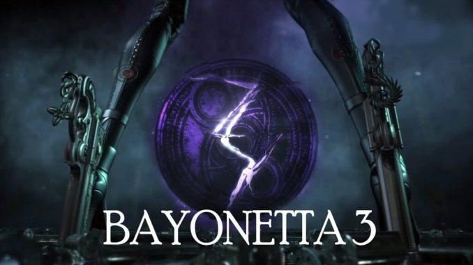 Das Bild zeigt ein Werbebild zu dem Game Bayonetta 3.