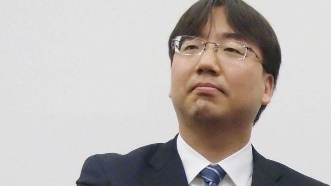Das Bild zeigt den Präsident von Nintendo Shuntaro Furukawa.
