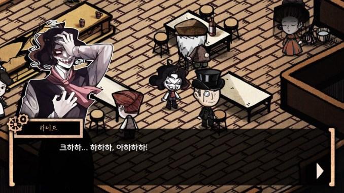 Das Bild zeigt eine Szene aus MazM: Jekyll and Hyde