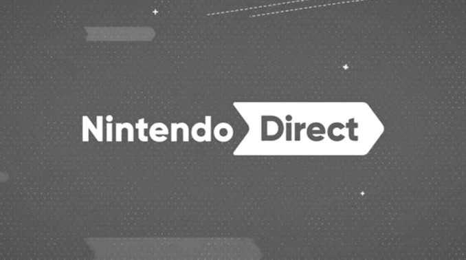 Das Bild zeigt das Nintendo Direct-Logo.