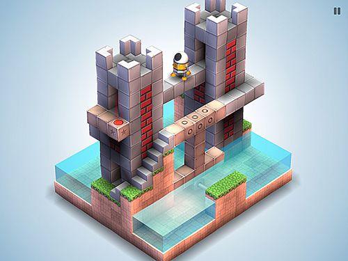 Das Bild zeigt ein Level aus Mekorama.