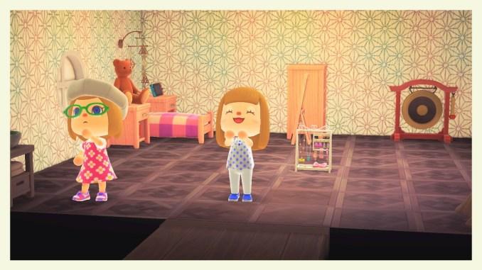 Das Bild zeigt die Inneneinrichtung von Caren in Animal Crossing: New Horizons.