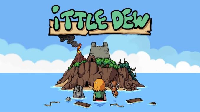 """Auf dem Bild ist der Startbildschirm von """"Ittle Dew"""" zu sehen."""
